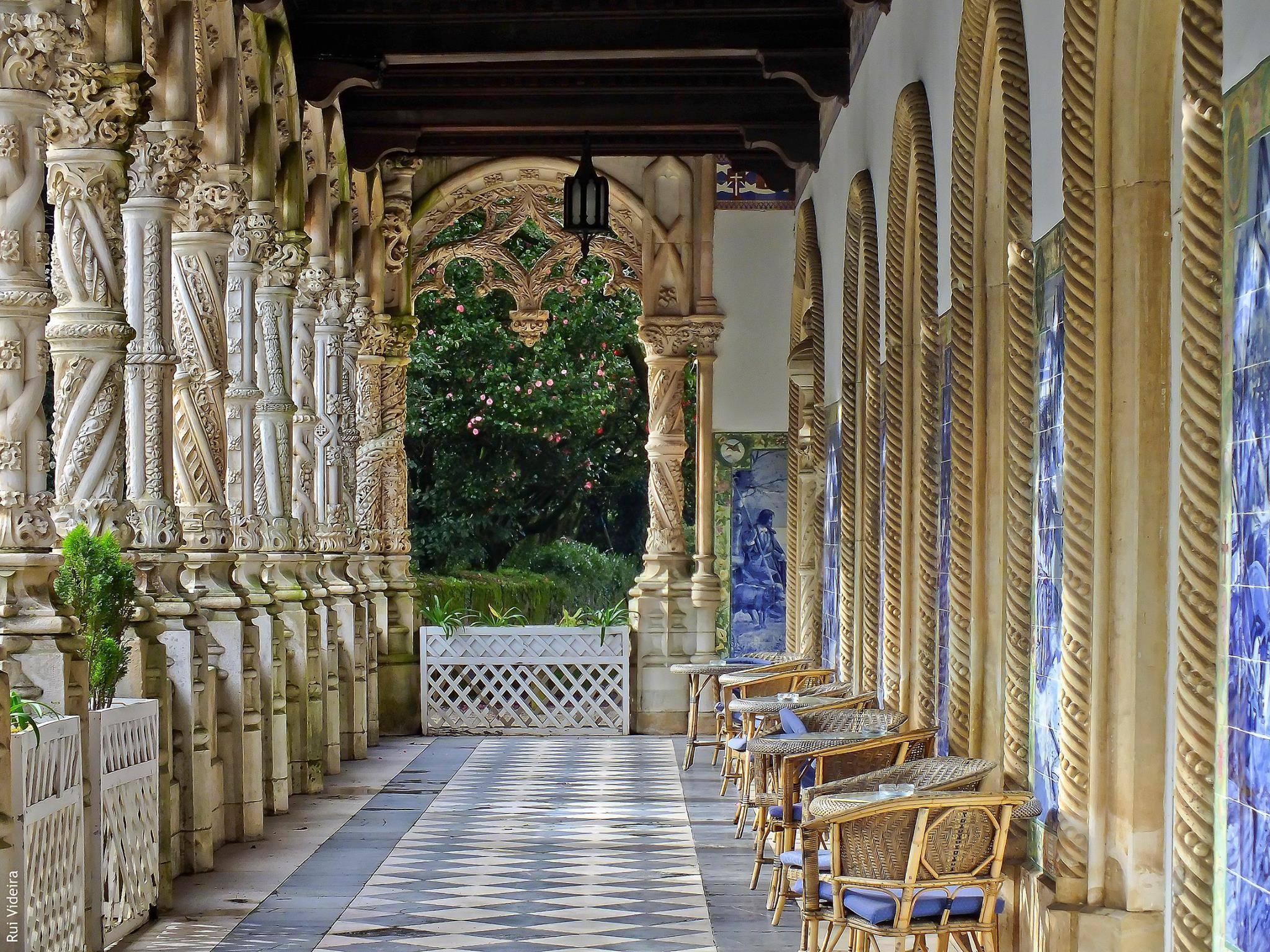 Bussaco Palce Hotel, Luso, Porugal