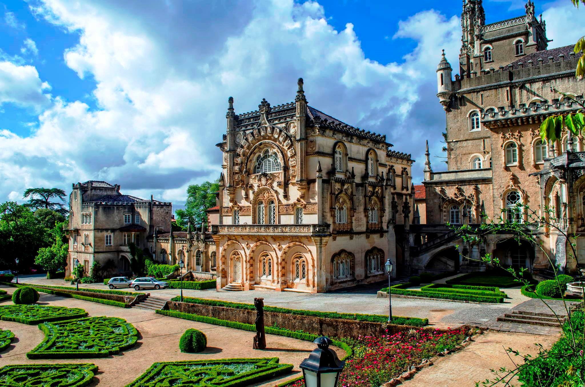 The Bussaco Palace Hotel, in Bussaco National Forest Park