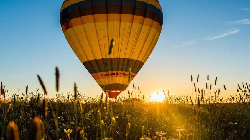 Adega Mayor; Hot Air Balloon Flight;