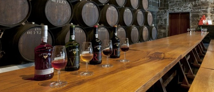 caves Offley, wine tasting, port wine cellars tour