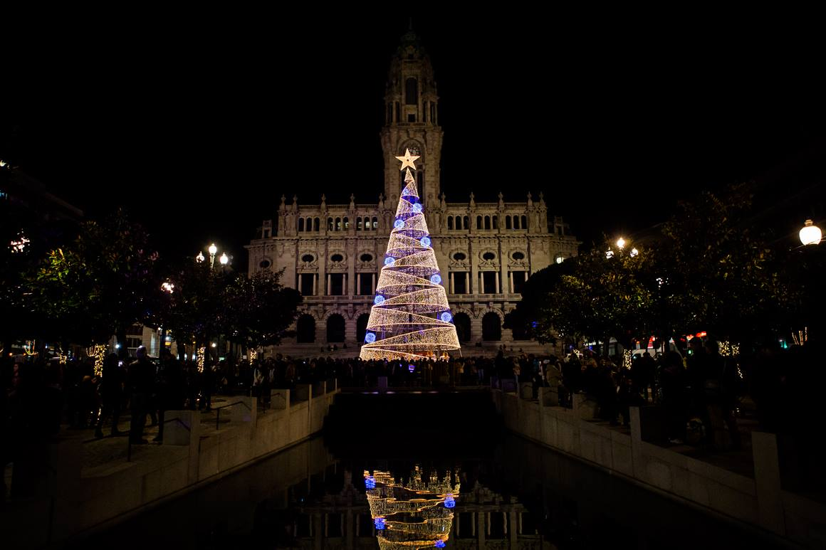 christmas in porto, christmas lights in porto, what to do in porto for the new year's eve, new year's eve in porto