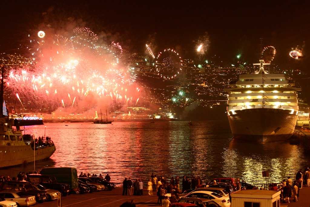 new years eve in madeira island, funchal, cruise in madeira