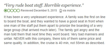 Risks of Buying on Online Cheap Vacations Websites - Bad experience review