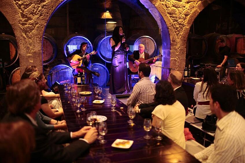 Portugal Wine Travel Tips - Fado & Port Wine Tasting at Calem Wine Cellar