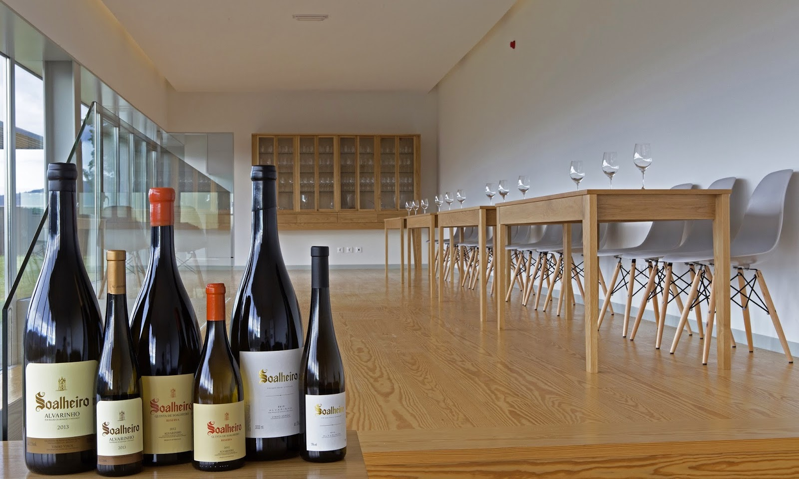 Quinta do Soalheiro Tasting Room