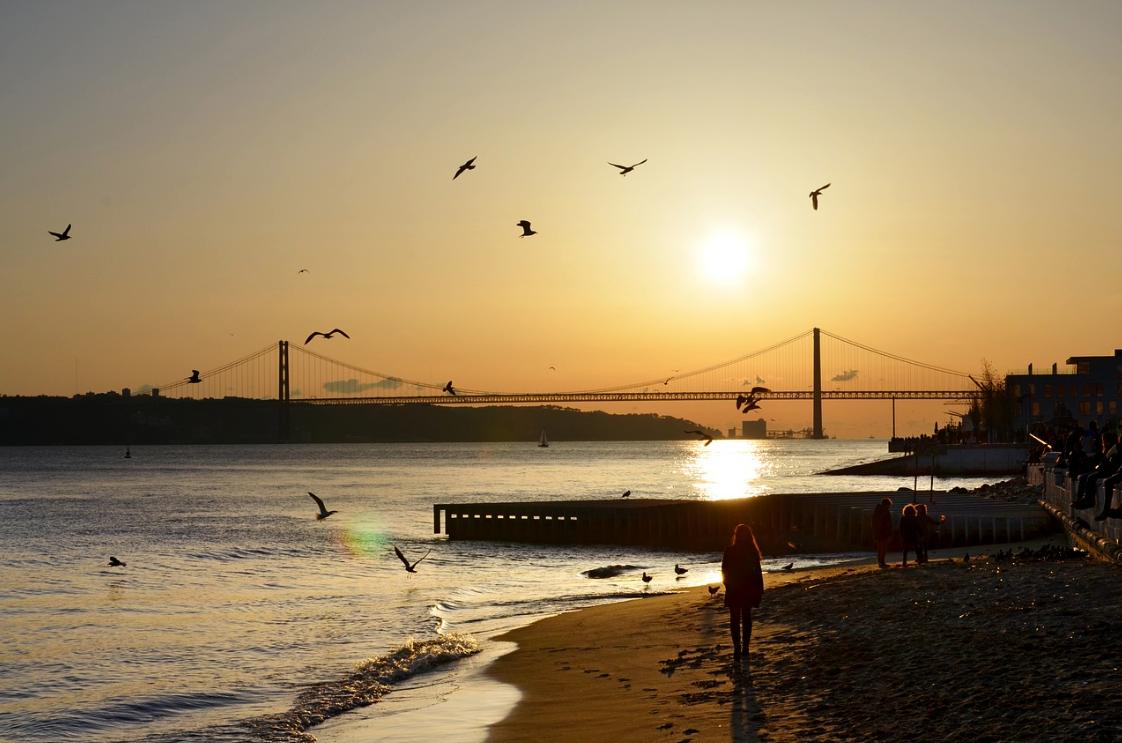 Fall Getaways in Portugal - Lisbon Suset