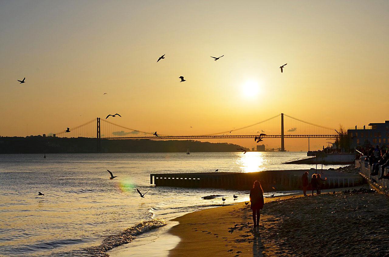 Fall City Breaks in Portugal - Sunset in Lisbon