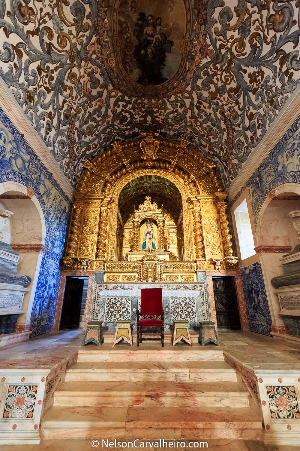Alentejo Wine Travel Guide - Convento do Espinheiro - Church