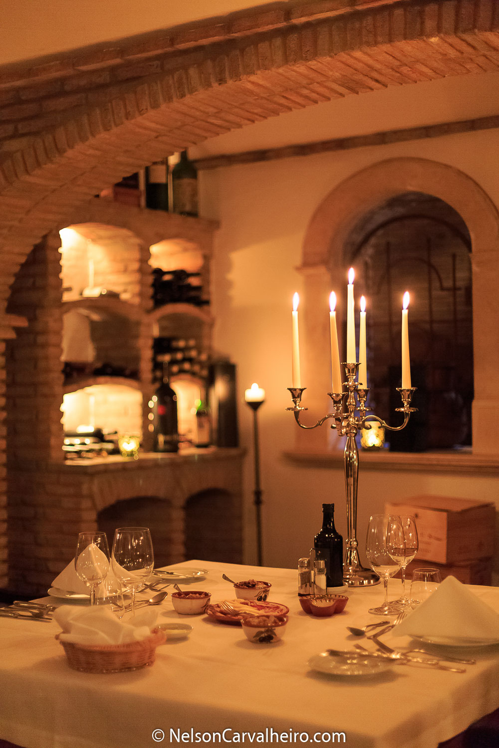 Alentejo Wine Travel Guide - Herdade dos Grous - Dinner at the Wine Cellar