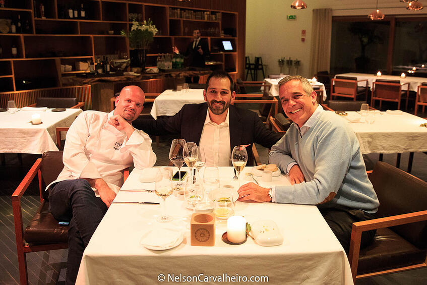 Alentejo Wine Travel Guide - L'AND Restaurant - Chef Miguel Laffan, Nelson Carvalheiro and GM Mario Stromp
