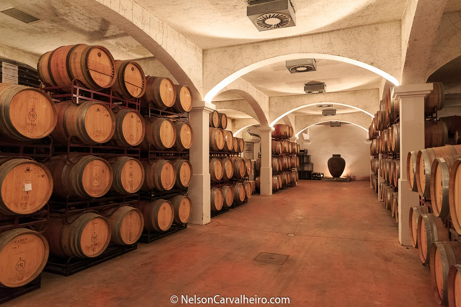 Alentejo Wine Travel Guide - Monte da Ravasqueira Cellar