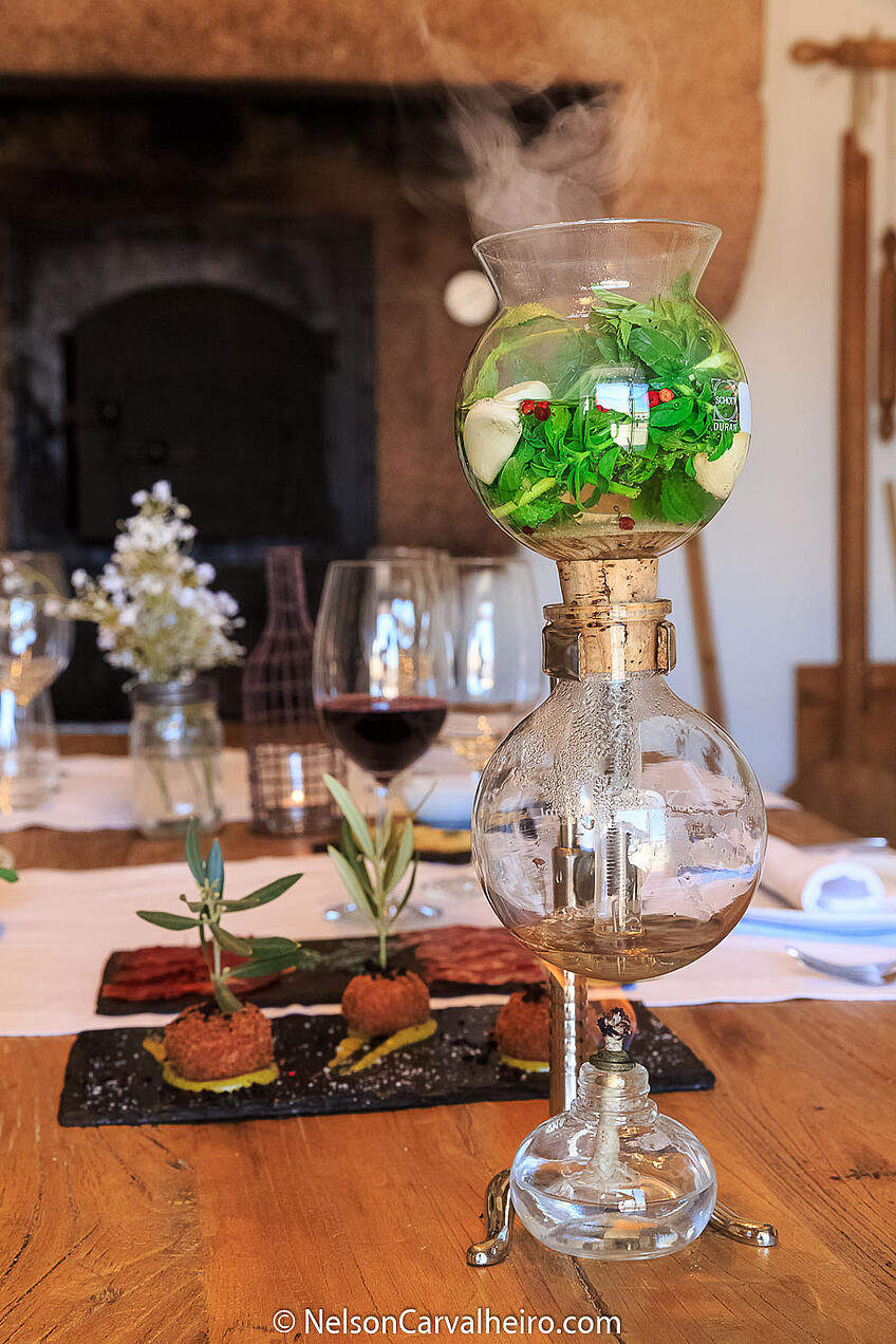 Alentejo Wine Travel Guide - Torre de Palma Wine Hotel - Pennyroyal Infusion