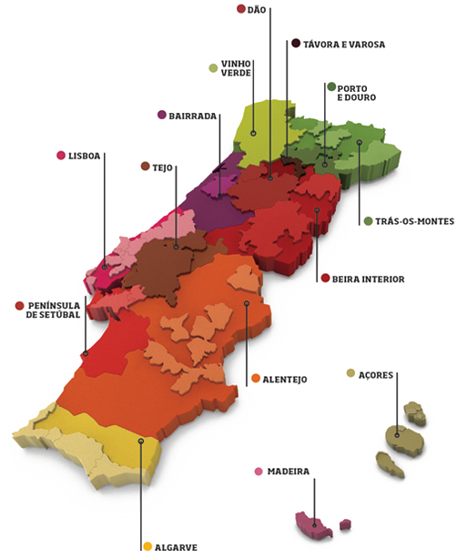 Portugal Wine Travel Tips - Wine Regions