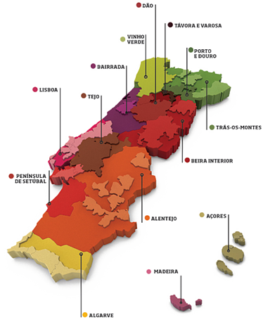 Portugal Wine Travel Tips - Wine Regions
