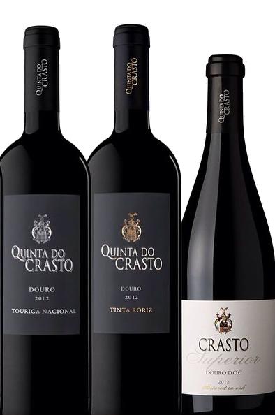 Portugal Wine Travel Tips - Quinta do Crasto Wine Labels