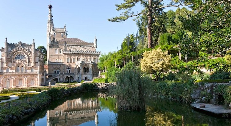 Fall Getaways in Portugal - Bussaco Palace