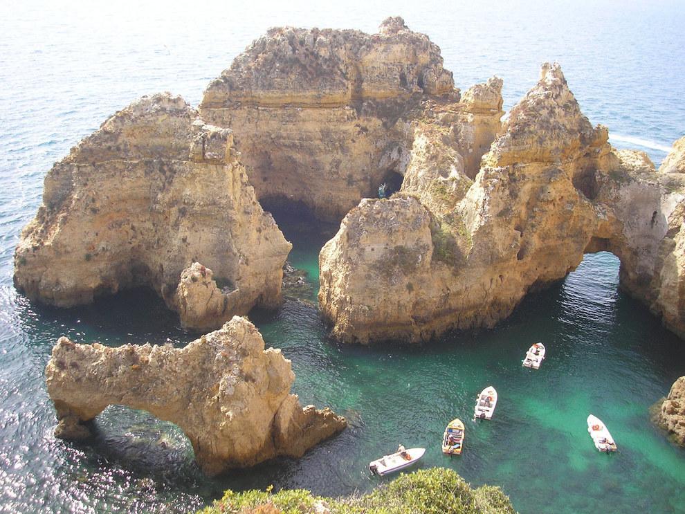 algarve, portugal, best travel destination, best european destination