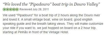 Pipadouro River Cruise Excellent Review