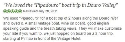 Pipadouro River Cruise Excellent Review
