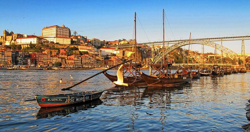 Wine Regions of Portugal - Porto River Side