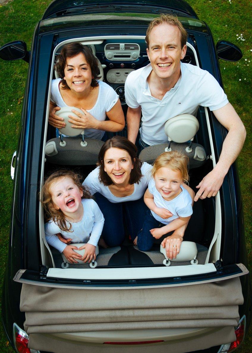 Customized Holidays - Happy Family