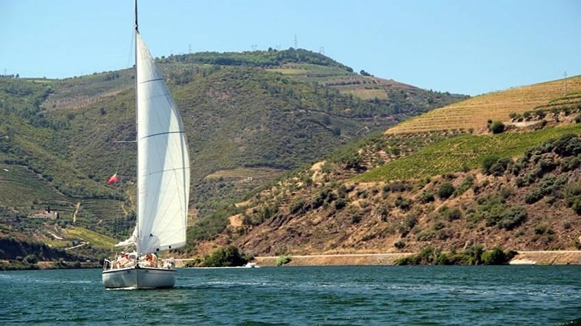 Douro à Vela; Douro River Cruise; Sailing Boat