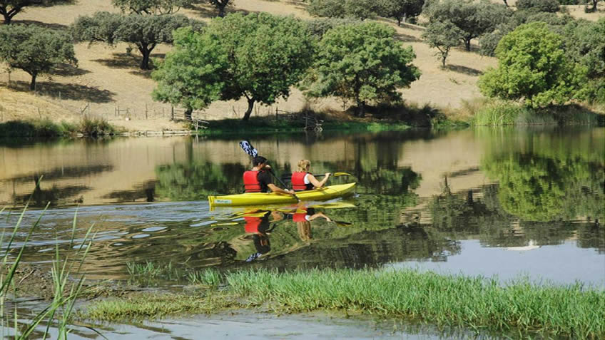 Herdade da Malhadinha Nova; Kayaking Portugal; Alentejo