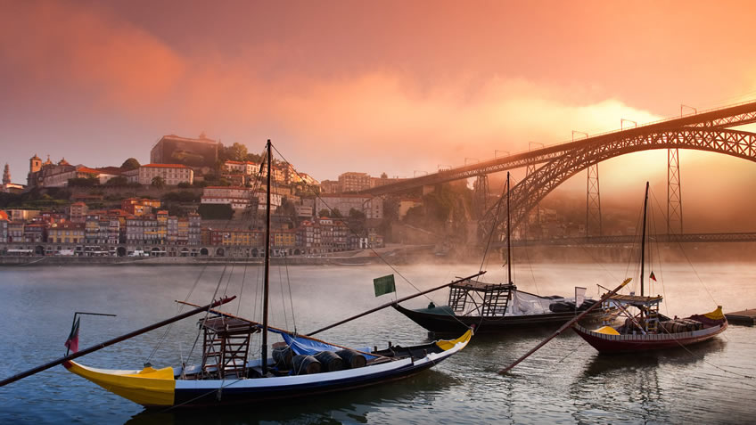 Luis I Bridge Porto; Porto Main Sights; Port Best Views