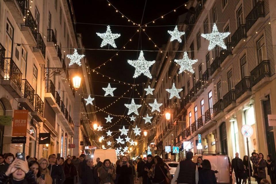 Luzes Natal Lisboa