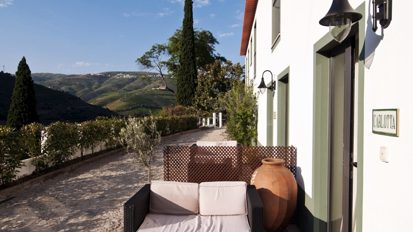 Quinta de La Rosa; Wine Hotel in Douro; Winery
