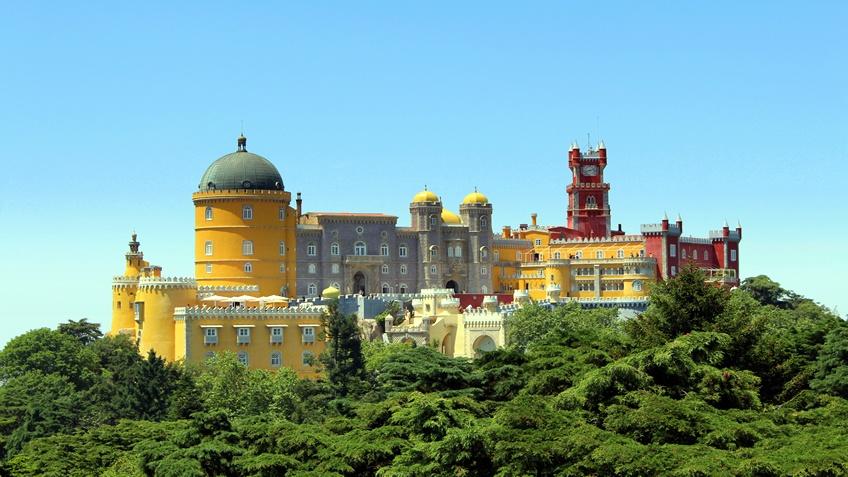 Wikipedia; Visit Sintra form Lisbon;  Pena Palace