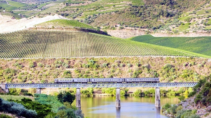Train Journey Douro Valley