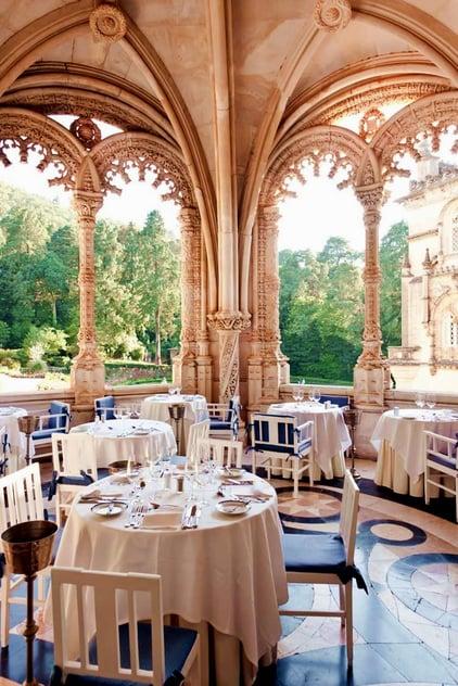 Restaurante João Vaz, Balcony with garden view