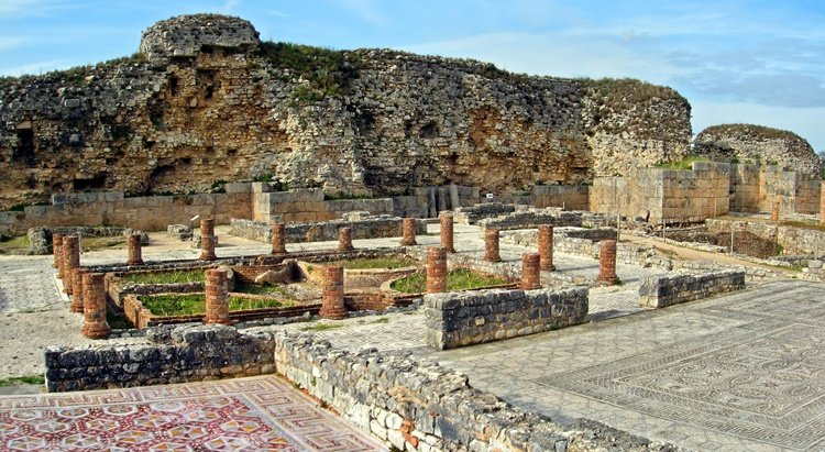 Conimbriga, The ruins of Portugal's main Roman city