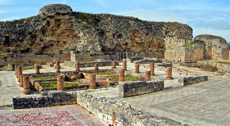Conimbriga, The ruins of Portugal's main Roman city