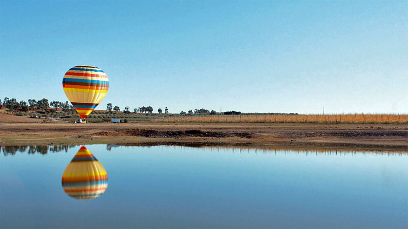 Balloon Ride at Vila Gale Country Club Wine Estate
