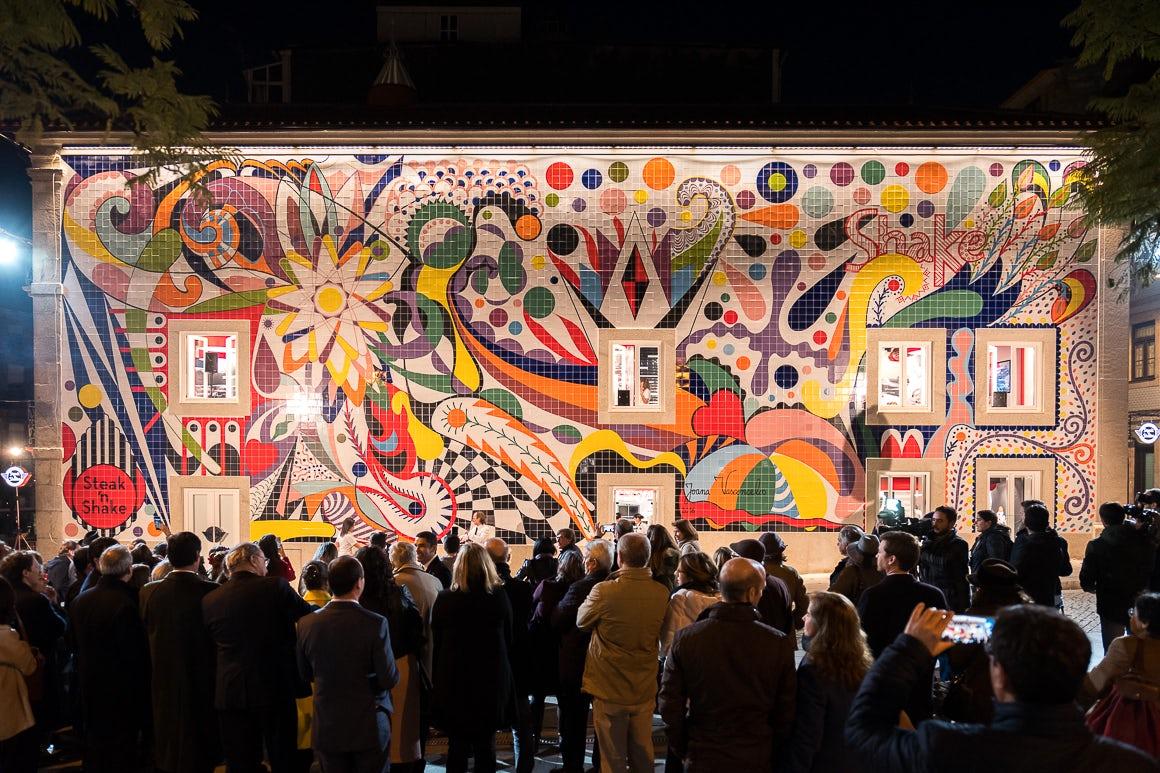 Joana Vasconcelos Mural