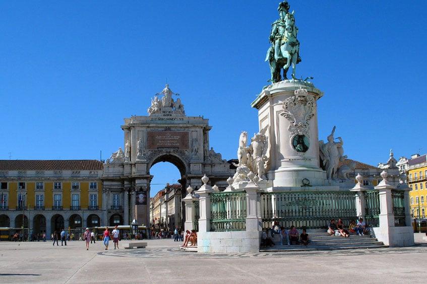Tours in Lisbon - Praça do Comércio