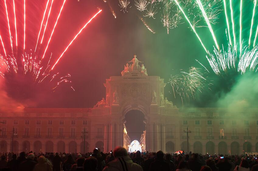 New Years Even in Lisbon