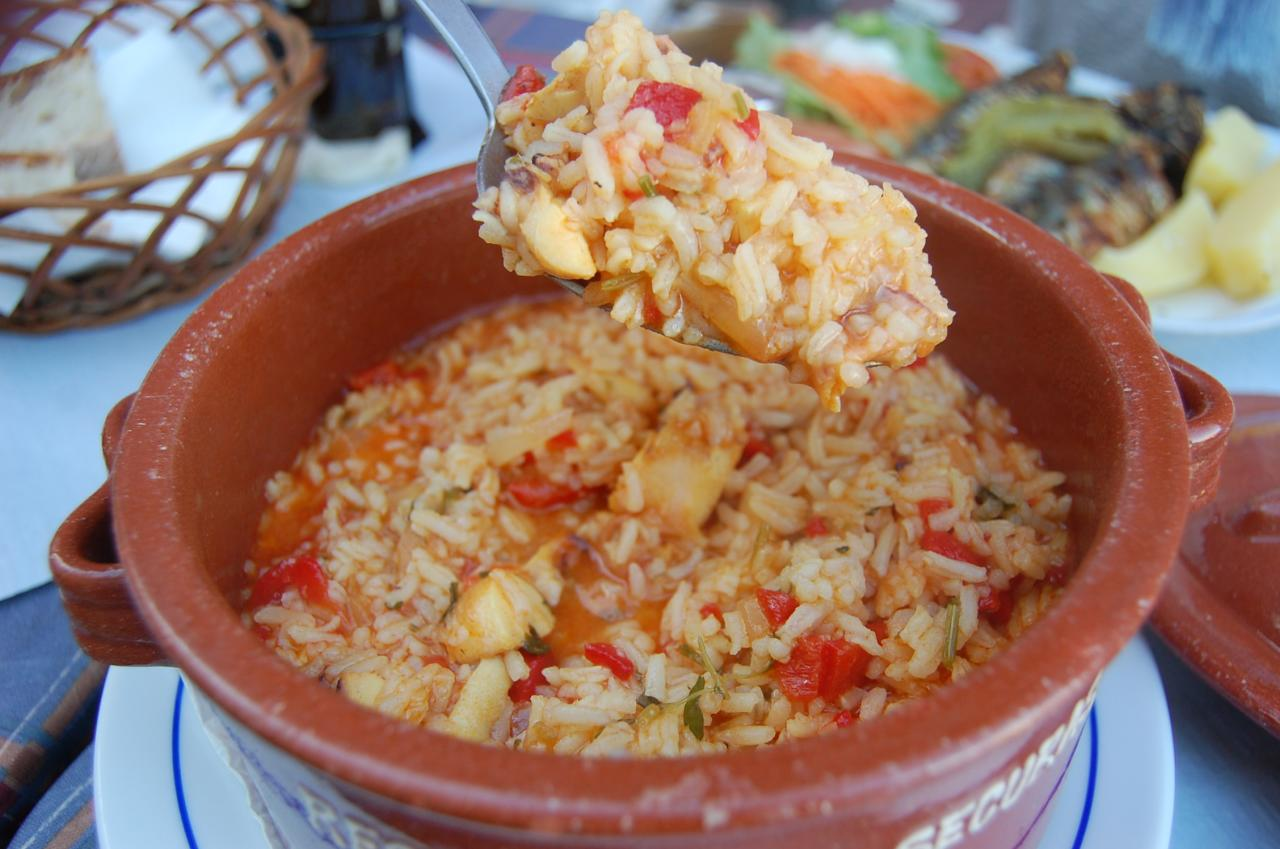 Octopus Rice - Porto Traditional Dish