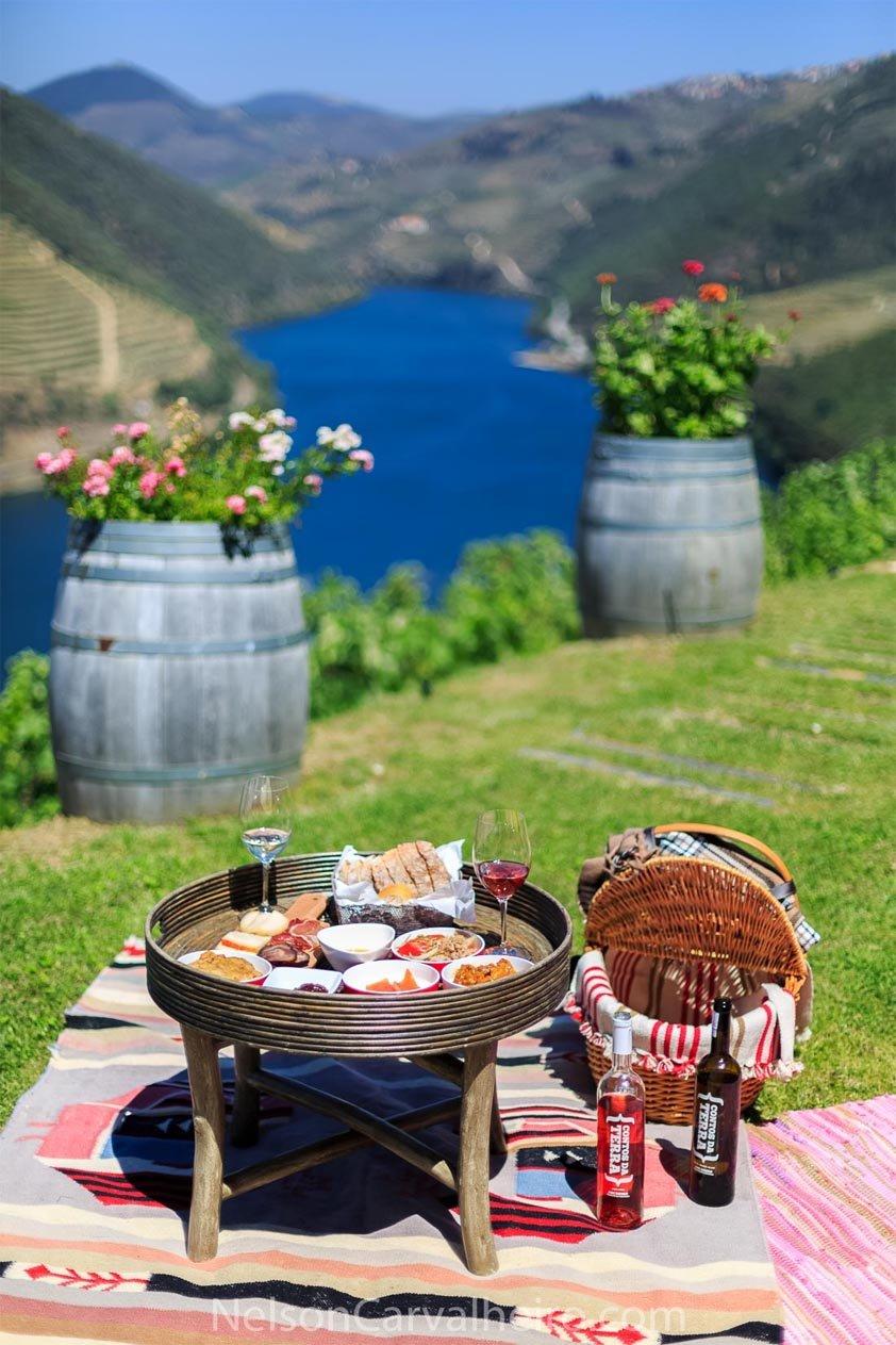 Picnic in the Vineyards at Quinta do Pôpa