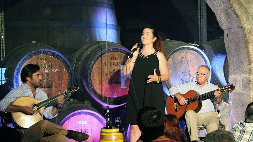 Fado at Calem Port Wine Cellar