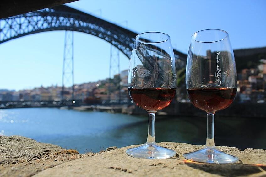 Burmester's view over Douro, wine tasting, port wine cellars tour.jpg