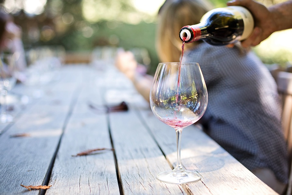 Wine is mostly used to create social bonds