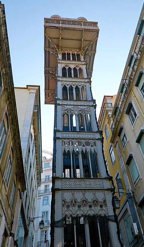 What to do in Lisbon - Santa Justa Lift