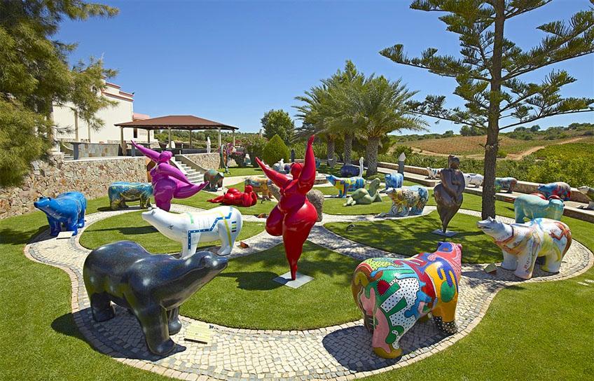 Algarve Wine Tour - Quinta dos Vales Garden