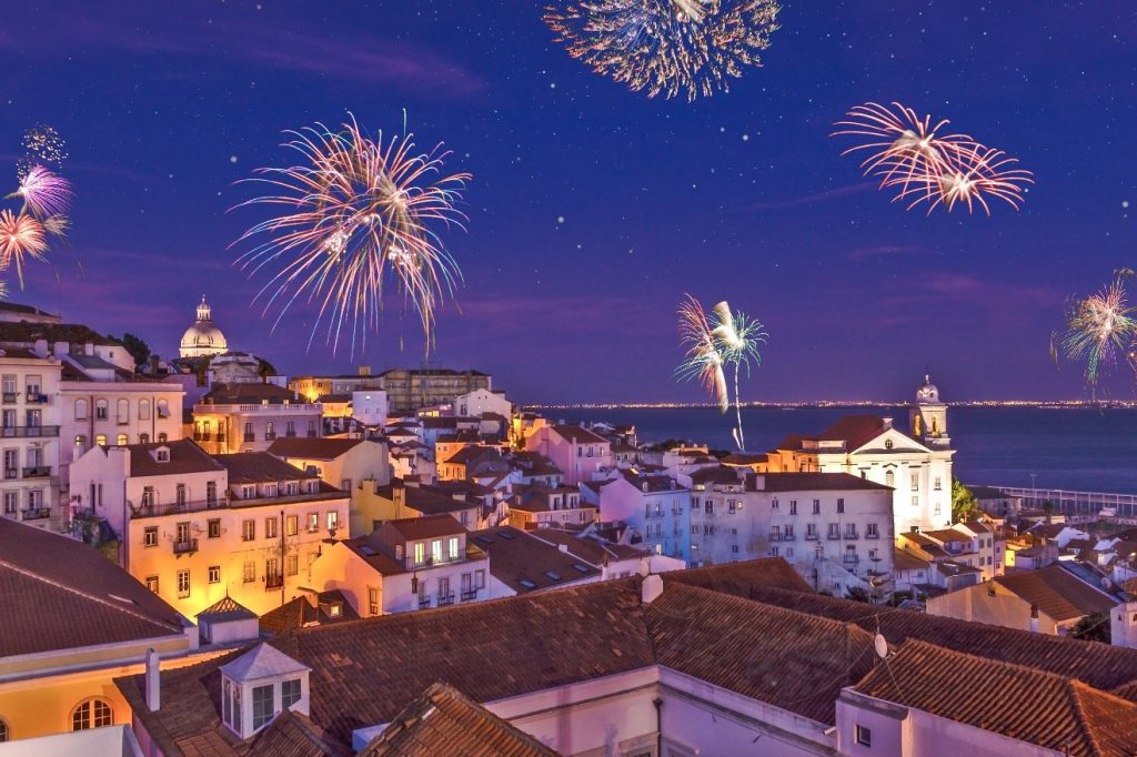 Best Places for spending the New Year's Eve in Portugal